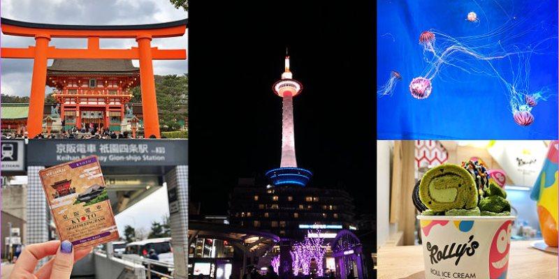 京都3天2夜自由行規劃~逛KYOTO TOWER SANDO、京都塔,買京阪電車京都觀光一日券玩京都
