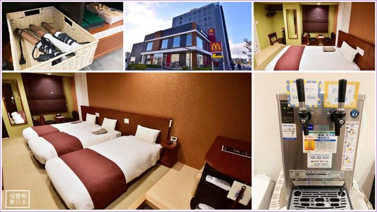 【飛驒高山站住宿】Hotel Kuretakeso Takayama Ekimae 高山站吳竹莊飯店,免費飲料+小點心,附浴場