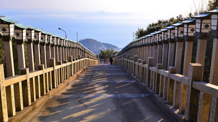 【小豆島景點】西の滝龍水寺,瀨戶內海盡收眼底,小豆島88所靈場之一