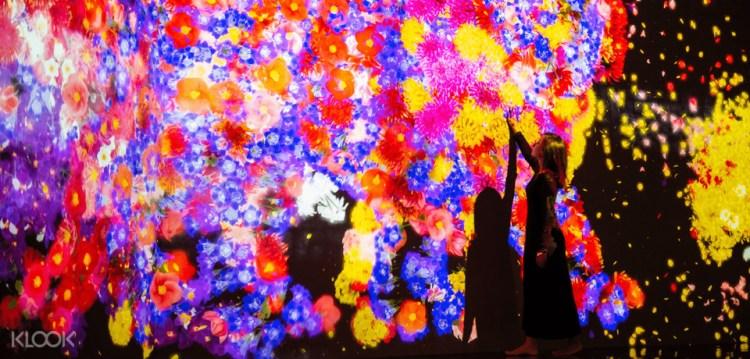 【限定優惠門票】台北teamLab未來遊樂園 & 與花共生的動物們 實際遊玩+穿搭拍照攻略
