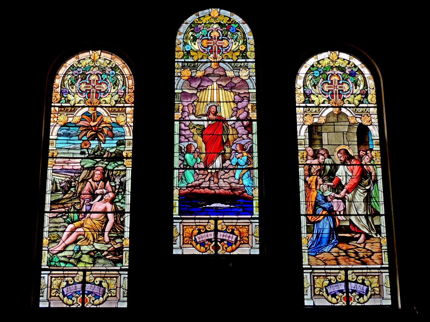 Ohio Cincinnati St Catholic Marks Church