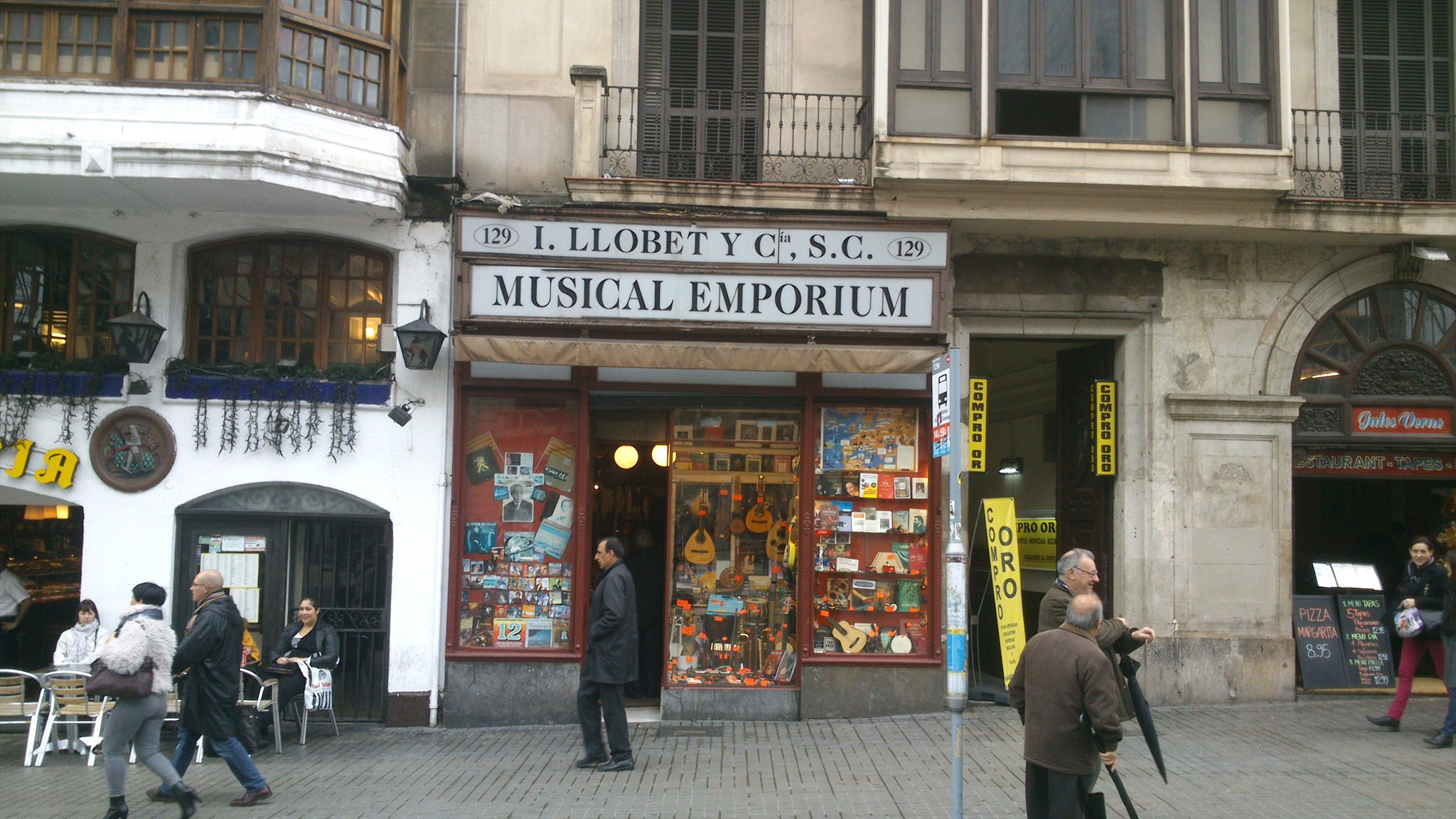 Resultado de imagen de musical emporium barcelona