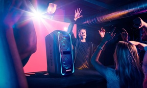 image for Sony High-Powered Extra Bass Bluetooth Speaker with Party Lights