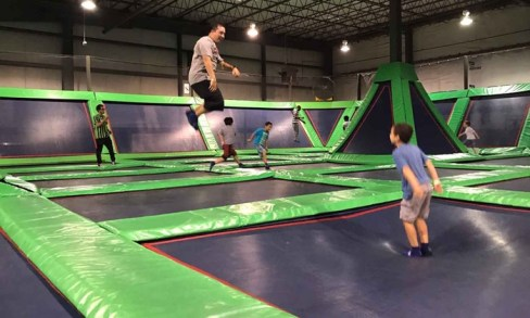 Rebounderz of Newport News - Central Newport News: 60- or 90-Minute All-Inclusive Pass for One or Two at Rebounderz of Newport News (Up to 40% Off)