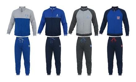 Tuta uomo Homewear Lancetti in cotone leggero disponibile in 2 modelli, 3 colori e varie taglie