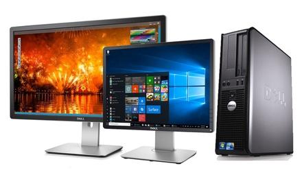 Dell OptiPlex Core 2 ricondizionato disponibile in varie configurazioni con spedizione gratuita