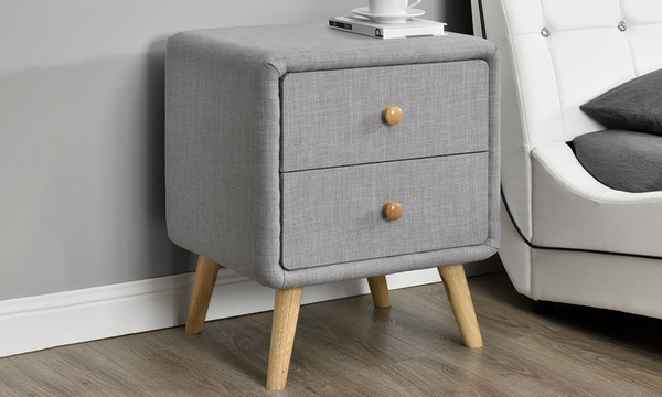 Faux Leather Or Linen Modern Bedside Tables In A Choice Of Designs And Colours From 49 99