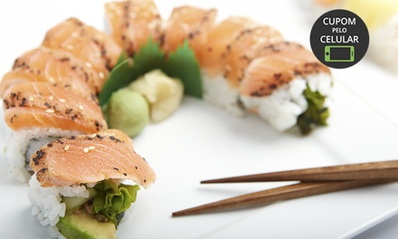 Kittara Sushi – Portão: rodízio japonês para 1 ou 2 pessoas