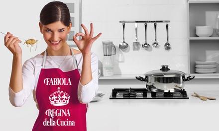 Fino a 3 grembiuli da cucina personalizzabili con Foticos(sconto fino a 55%)