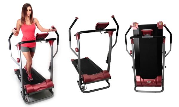 tapis de marche avec bras 2 en 1 o fitness