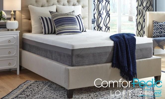 Comforpedic Loft From Beautyrest 12 Comfort Gel Memory Foam Mattress