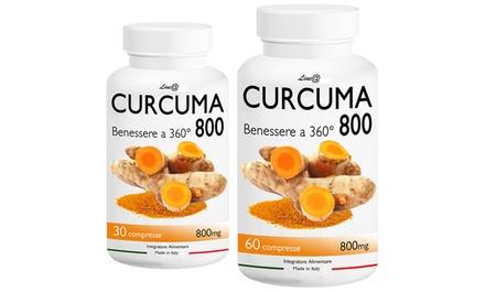 Fino 720 compresse di Curcuma 800 per dimagrire e favorire il tuo benessere a 360°
