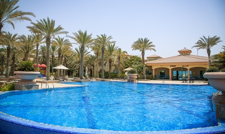 Villa Pool and Beach Access for Up to 4 at Body & Soul Recreation Club at 5* Al Raha Beach Hotel (Up to 43% Off)
