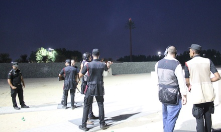 Advanced Clay Pigeon or Indoor Shooting Session with Choice of Weapon at Sharjah Golf & Shooting Club