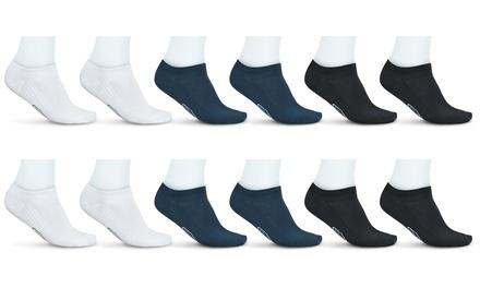 12 paia di fantasmini da uomo Pompea disponibili in 3 colori e varie misure