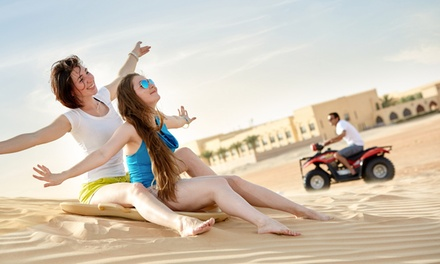 Abu Dhabi: 1 or 2 Nights for Two with Breakfast or Half Board, Quad Biking and Activities at the 4* Tilal Liwa Hotel
