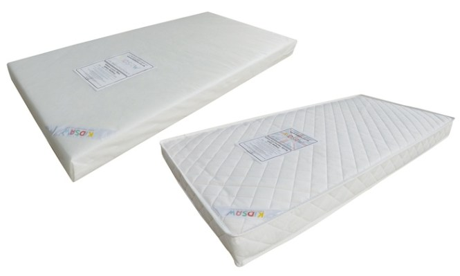 Groupon Goods Global Gmbh Kidsaw Toddler Junior Cotbed Mattress