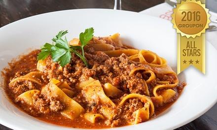 מסעדת Pasto האיטלקית על הכרמל: רק 25 ₪ לגרופון בשווי 50 ₪ לבחירה מהתפריט, או ארוחה זוגית מפנקת ב 168 ₪ בלבד