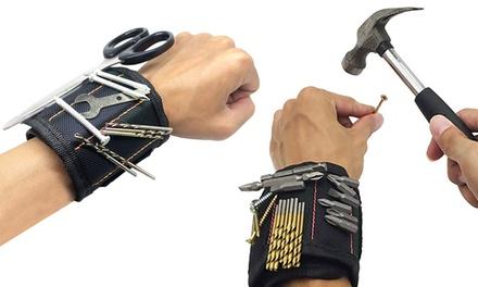 Braccialetto magnetico Magnetic Armband per piccoli attrezzi come viti e punte del trapano