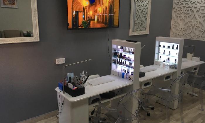 Or Nail Atelier Salon Dubai Standard Gel Evo2 Mani Pedi