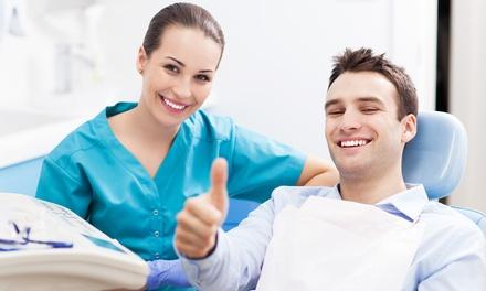 Visita, pulizia dei denti, smacchiamento, otturazione e sbiancamento led (sconto fino a 93%)