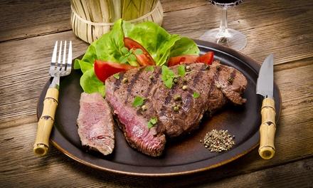 Menu costata o tris di tagliata con dolce e vino per 2, 4 o 6 persone da Grill SS11 (sconto fino a 72%)