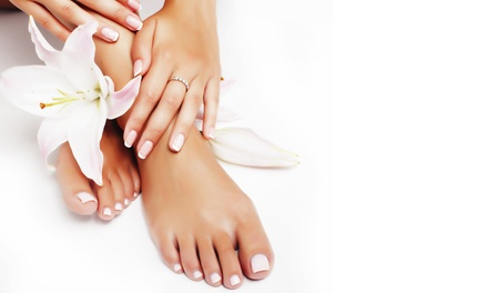 Classic, French or Gelish Manicure and Pedicure at Viva Ladies Saloon
