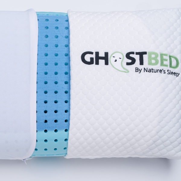 cooling gel memory foam pillows and mattresses from ghostbed up to 65 off