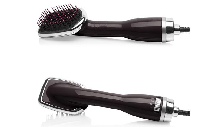 3 In 1 Blow Dryer Straightening Brush Detangler Amp Hair