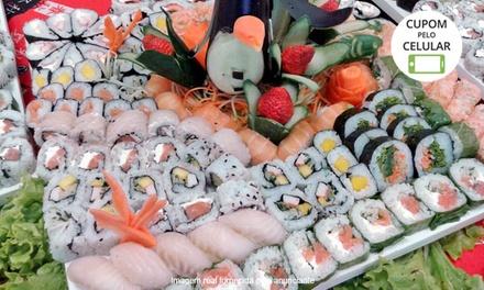 Kittara Sushi – Portão: buffet livre para 1 ou 2 pessoas