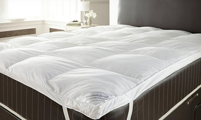 Groupon Goods Global Gmbh Goose Feather Mattress Topper From 21 98 Plus Pillows