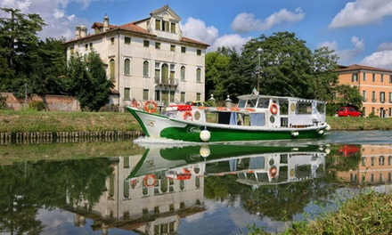 Tour di Padova o della Riviera del Brenta in battello per una, 2 o 4 persone con Artemartours