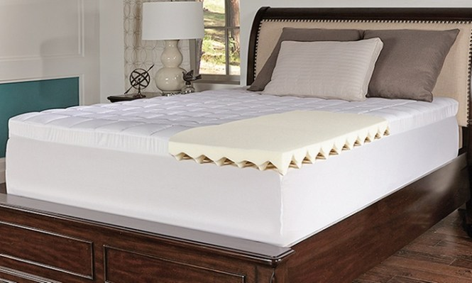 Beautyrest 4 5 Quilted Memory Foam Mattress Toppers