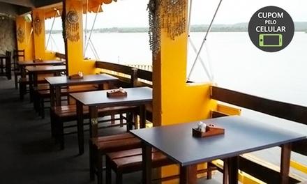 Almoço para 2 ou 4 pessoas no Ancoradouro – Pontal da Barra