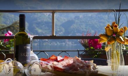 Menu tipico valtellinese da 4 portate con bottiglia di vino per 2 persone al Ristorante San Marino (sconto fino a 61%)