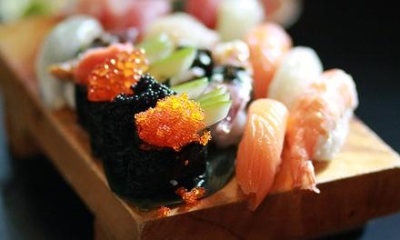 Menu sushi con vino per 2 o 4 persone al ristorante Fu Sushi (sconto fino a 47%)