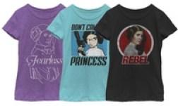 Girl Power Star Wars Tees