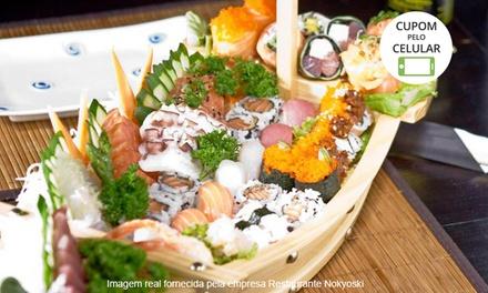 Restaurante Nokyoski – 2 endereços: rodízio japonês clássico para 1 ou 2 pessoas