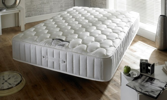 Groupon Goods Global Gmbh Hy Beds Bamboo 3000 Memory Foam And Pocket Sprung Mattress With