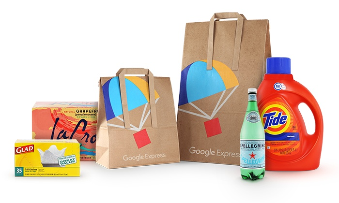 Google Express: $15 for $40 to Spend on First Order from Google Express