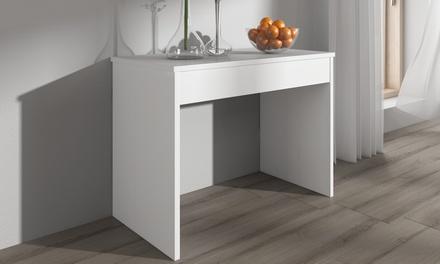 Tavolo consolle allungabile fino a 3 m disponibile in 3 colori