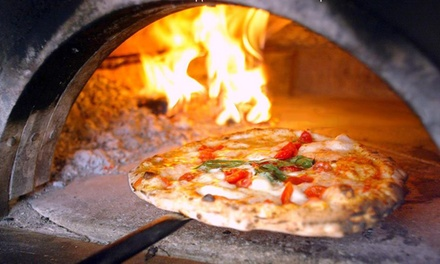 Menu con pizza cotta in forno a legna, antipasto, dole e birra al ristorante I Buongustai di Nappino (sconto fino a 63%)
