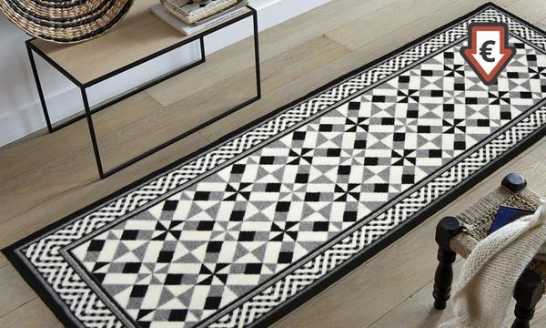 destockage tapis imitation carreaux de ciment