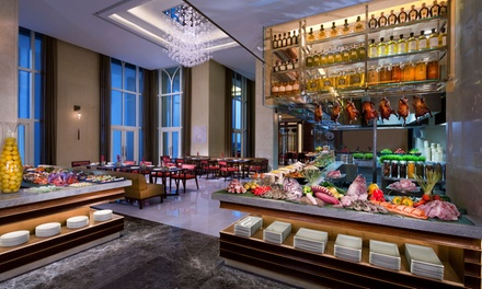 Friday Brunch for Up to Four at Ingredients at 5* Anantara Eastern Mangroves Abu Dhabi Hotel (Up to 37% Off*)