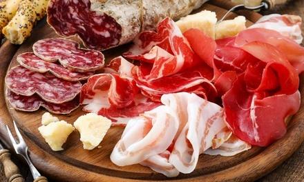 Menu con arrosticini alla brace più vino per 2 o 4 persone a La Cantina degli Antichi Mestieri (sconto fino a 75%)