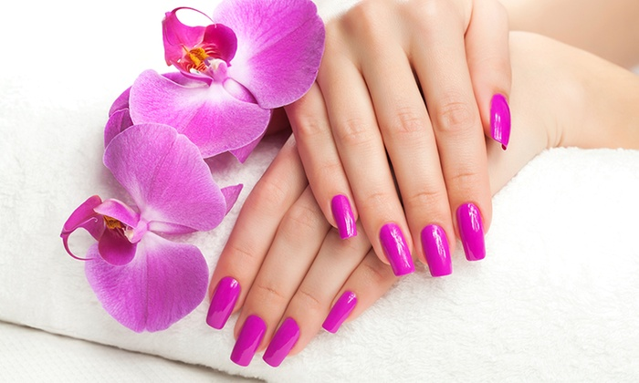 A Touch Of Cl Wrexham Acrylic Nail Extensions With Gel Polish At