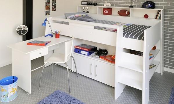lit combine stormy avec bureau et rangements integres fabrique en france