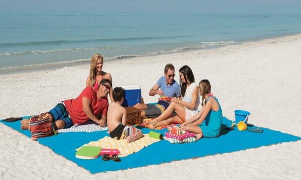 1 ou 2 tapis de plage magiques anti sable