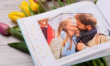 Uno o 2 fotolibri in formato A4 personalizzabili da 28, 40 o 80 pagine con copertina rigida offerti da Colorland