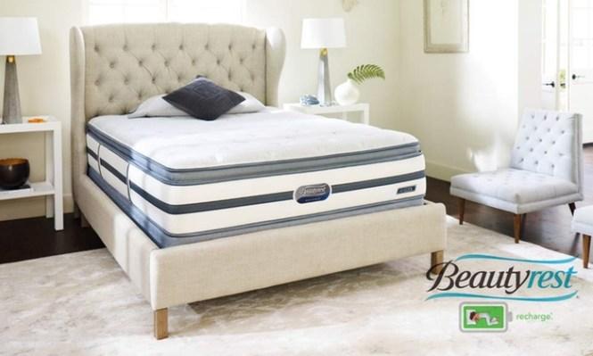 Simmons Beautyrest Valley Cottage Recharge Pillow Top Mattresses Mattress Sets